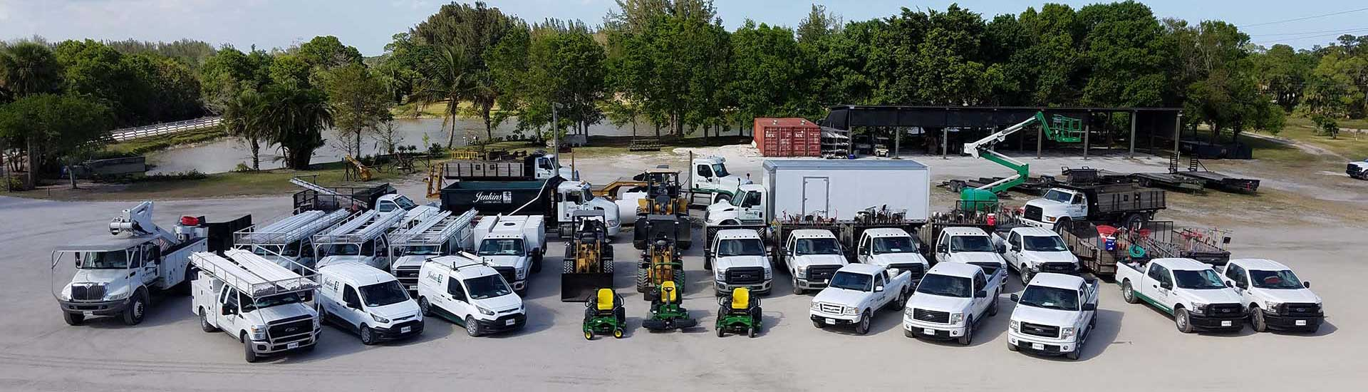 Jenkins company truck fleet photo